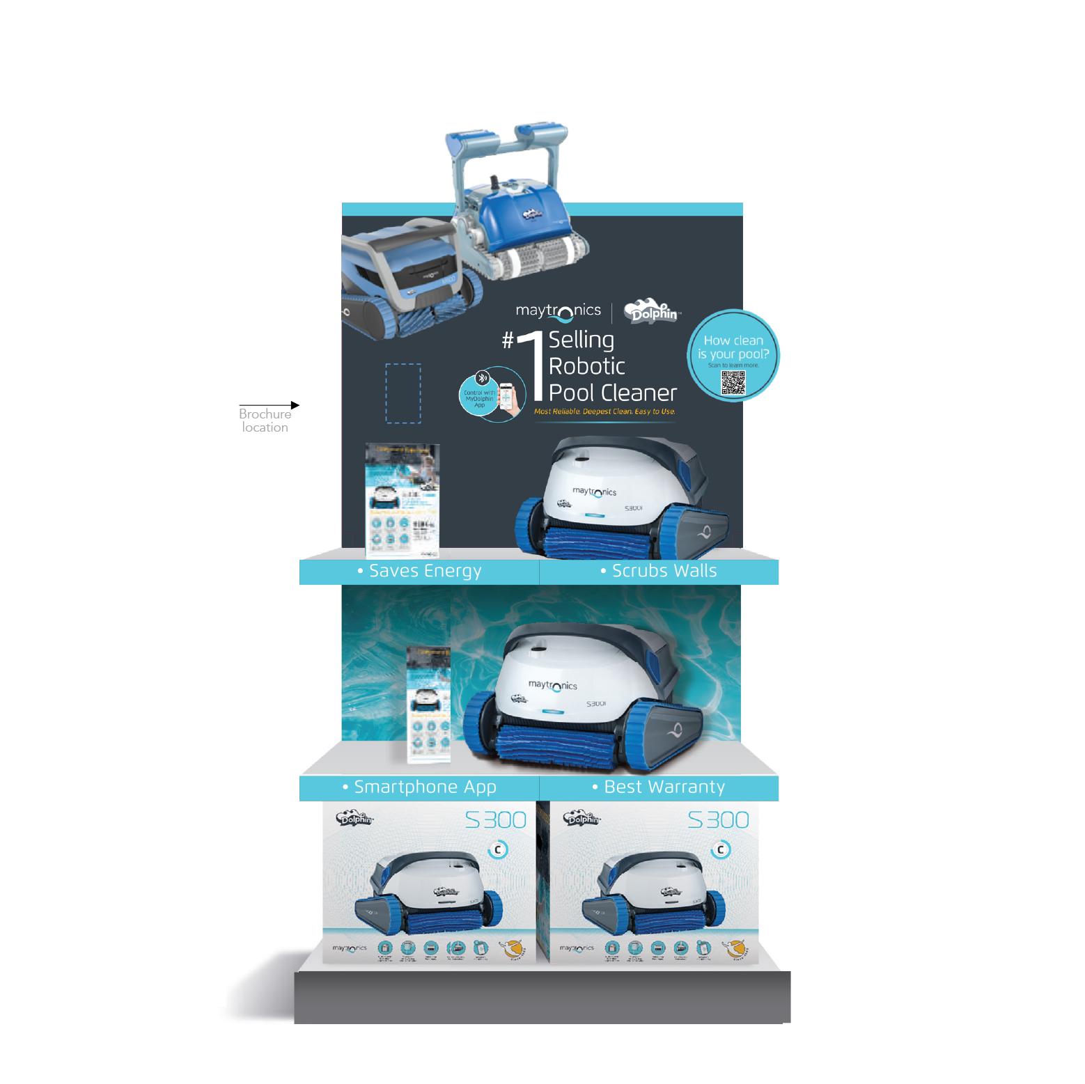 Maytronics – Dealer retail display