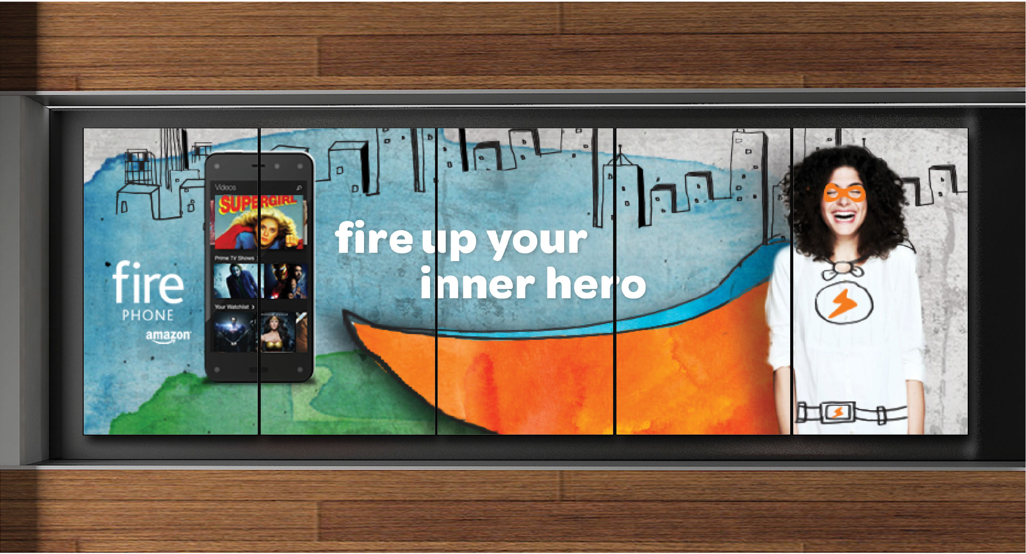 AT&T Retail Experience - Digital signage installation