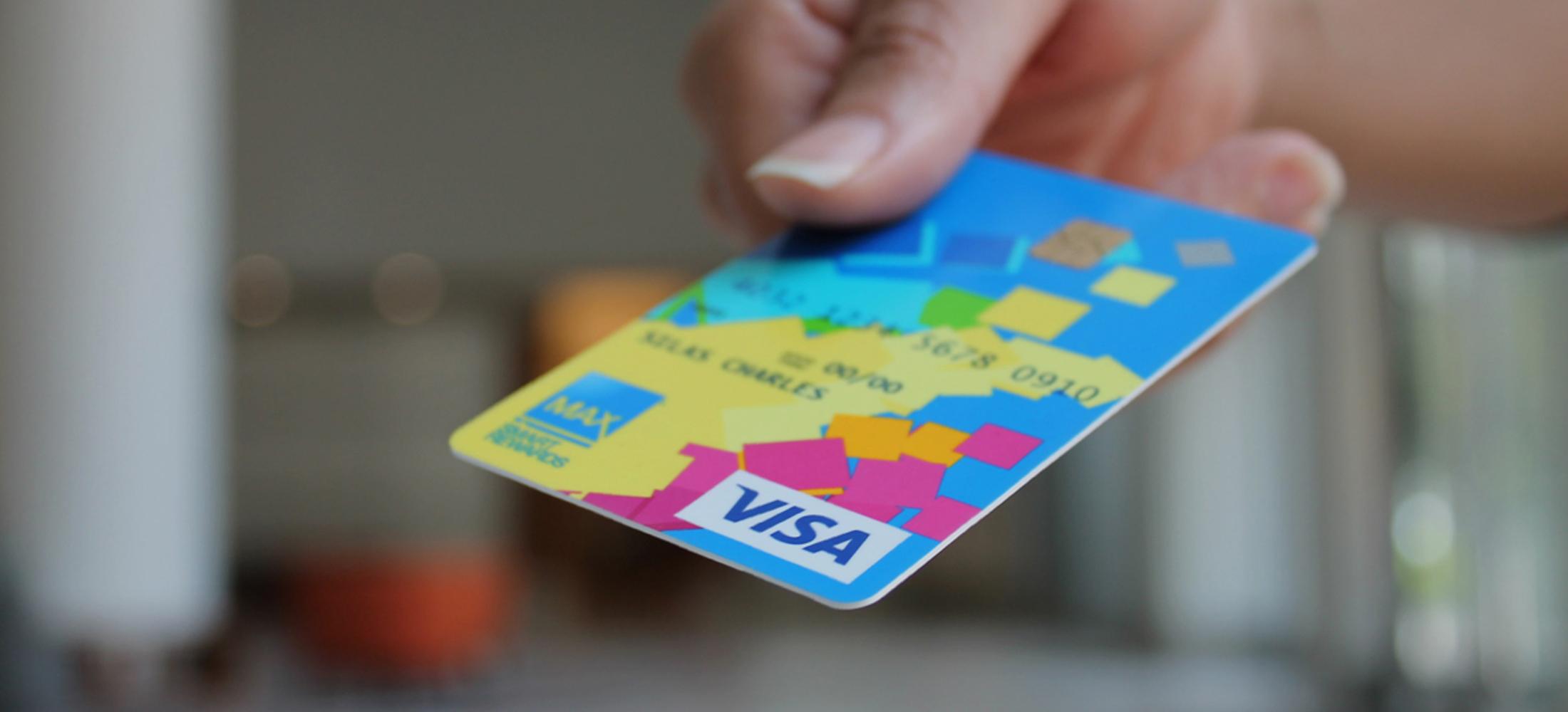 Max Credit Union credit card design