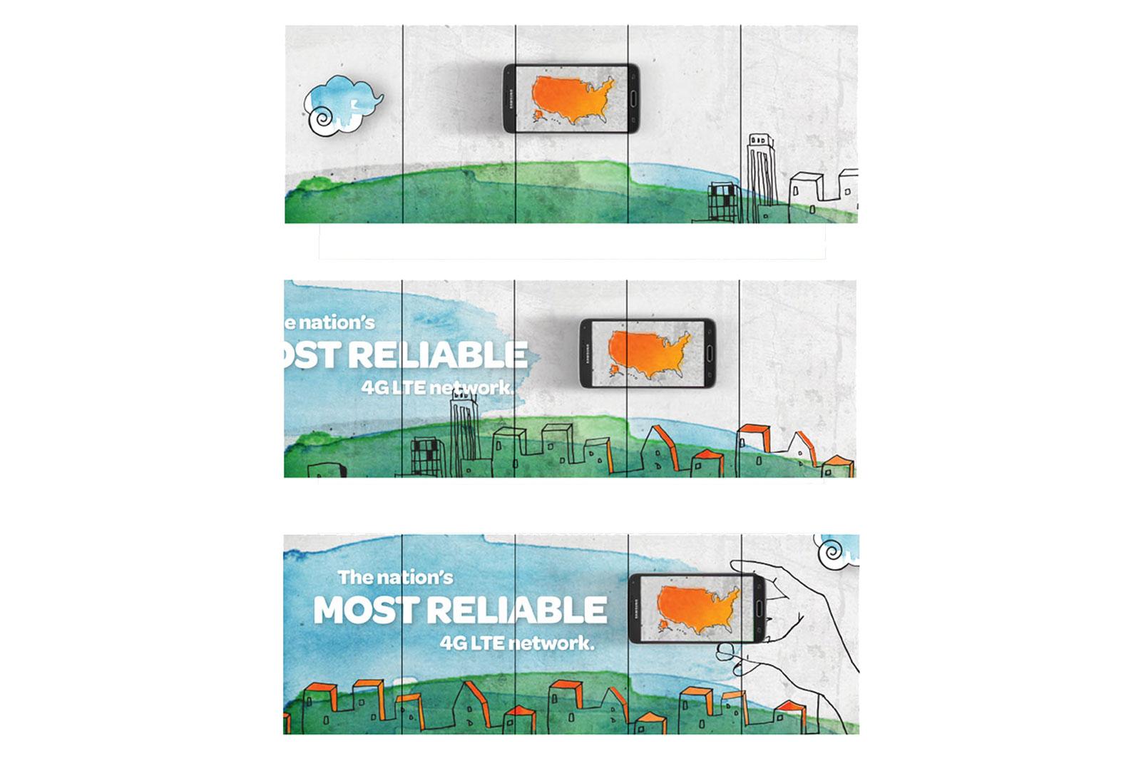 AT&T Retail Experience - Digital signage progression