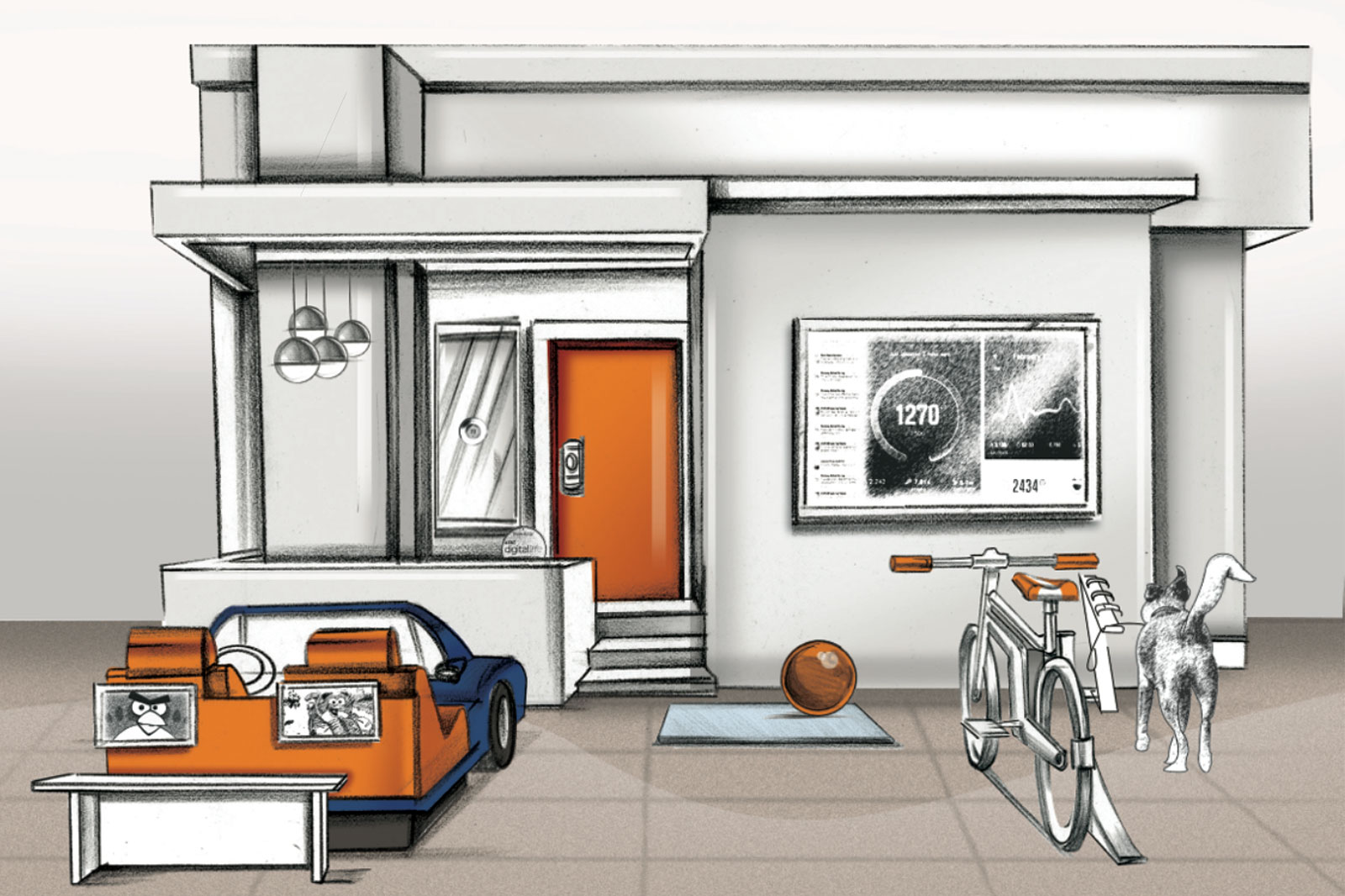 AT&T Retail Experience - Retail concept Store of The Future