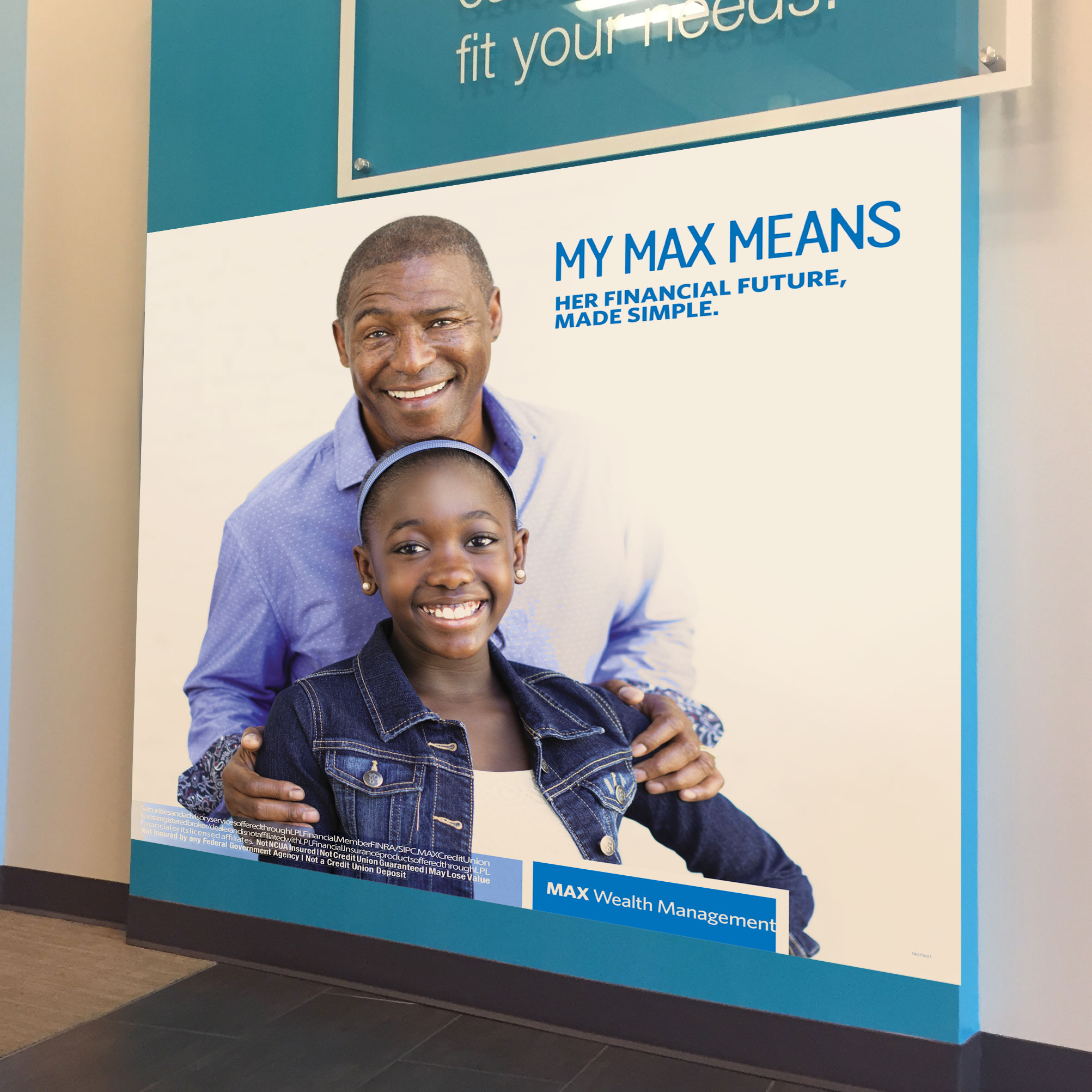 Max Credit Union retail signage _ My Max Mean