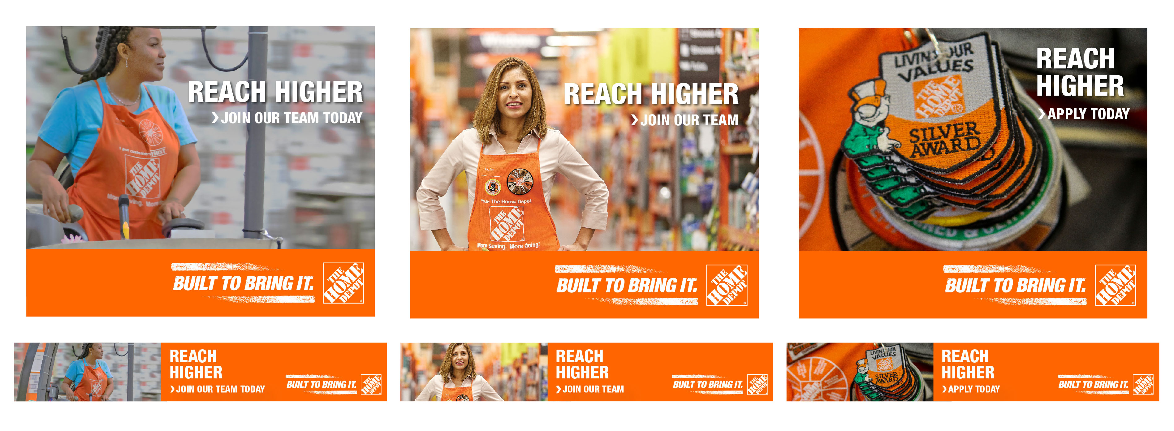 Home Depot — Built To Bring It OLA/banner modules