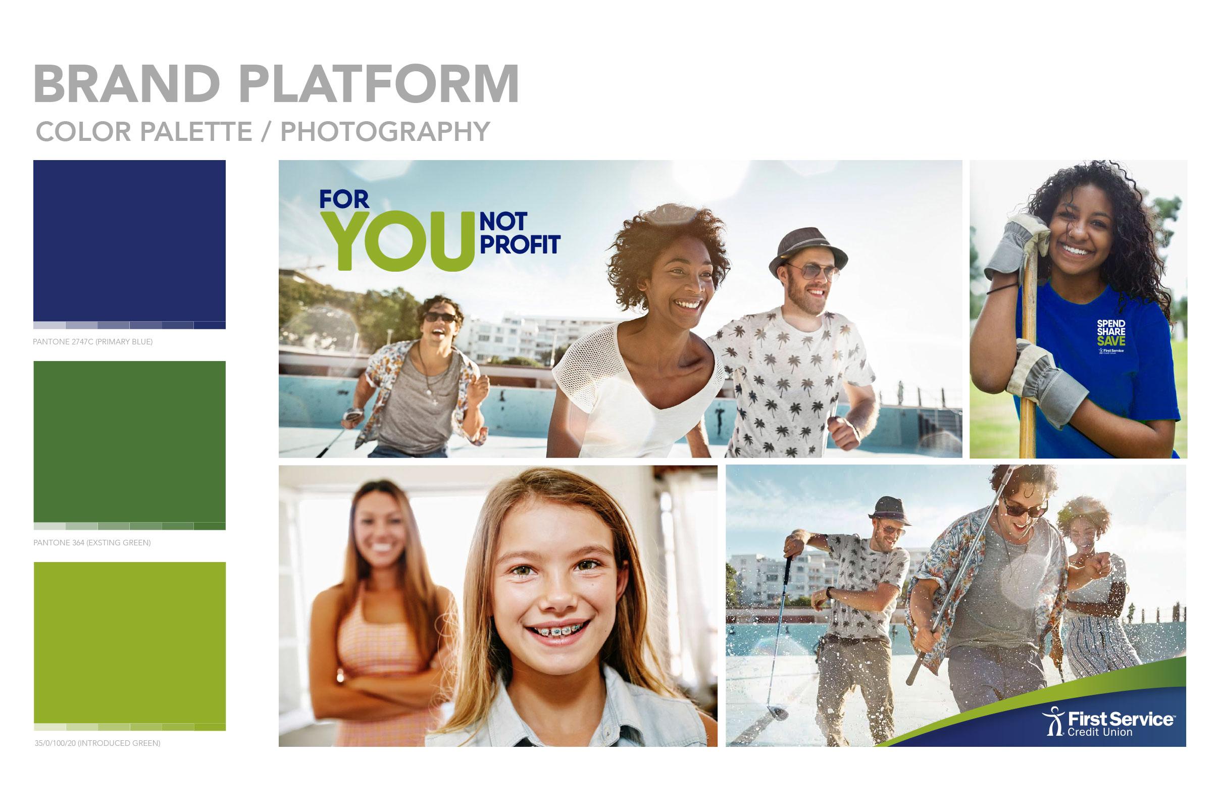 First Service Credit Union – brand platform attributes