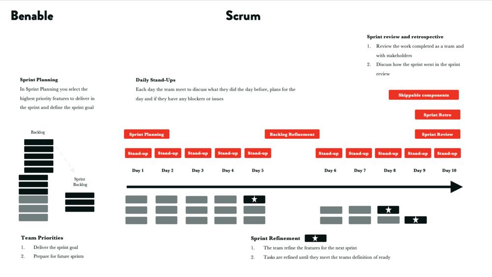 The basic sprint in Scrum