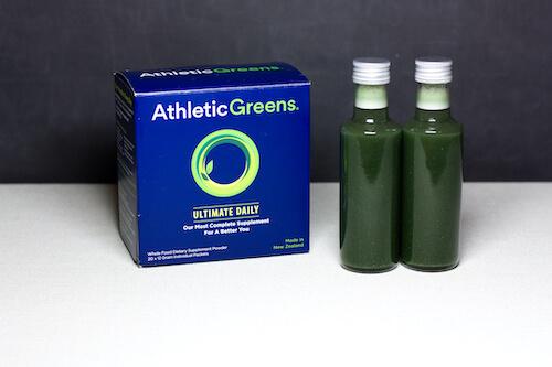 Athletic Greens Shot nährstoffe getränk