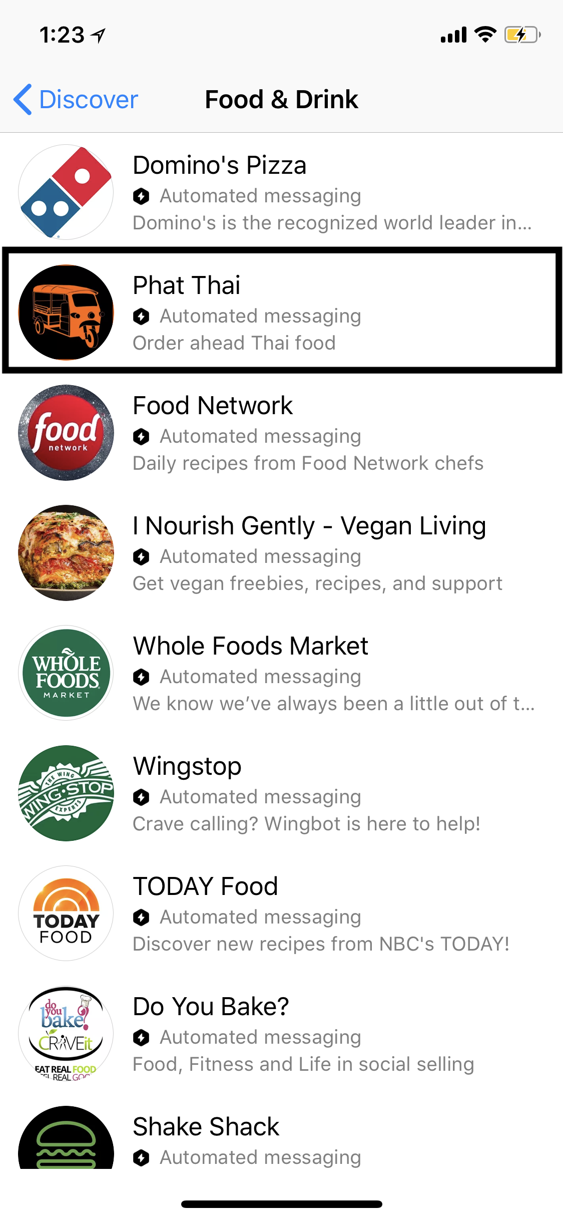 Integrate your restaurant with Facebook Messenger ordering, payment and many other features!