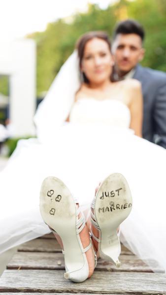 DJ Hochzeit Fotoshooting Married