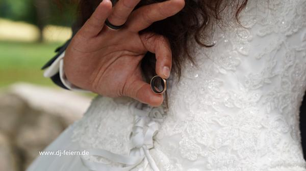 Diskjockey Hochzeit Fotoshooting
