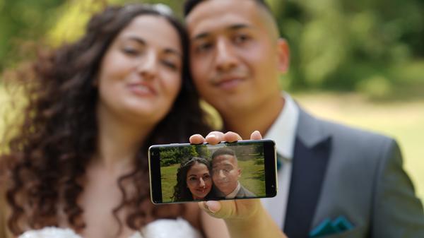 DJ Hochzeit Selfie