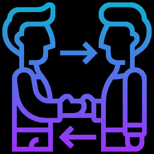 Symbol Gespräch