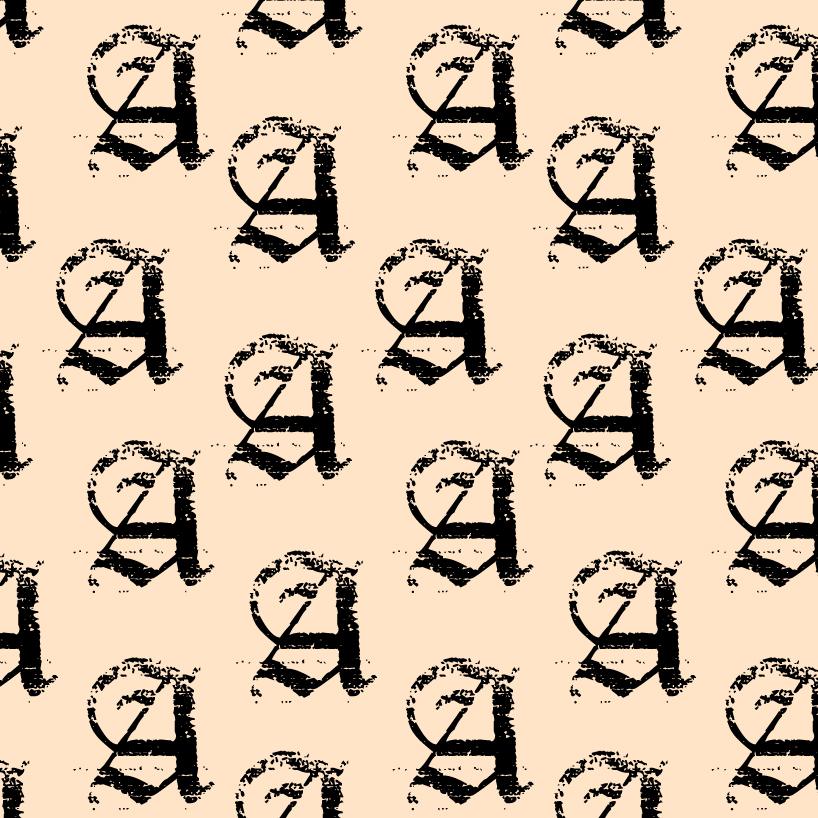 Afrodisiac apothecar icon tiled on a cream background