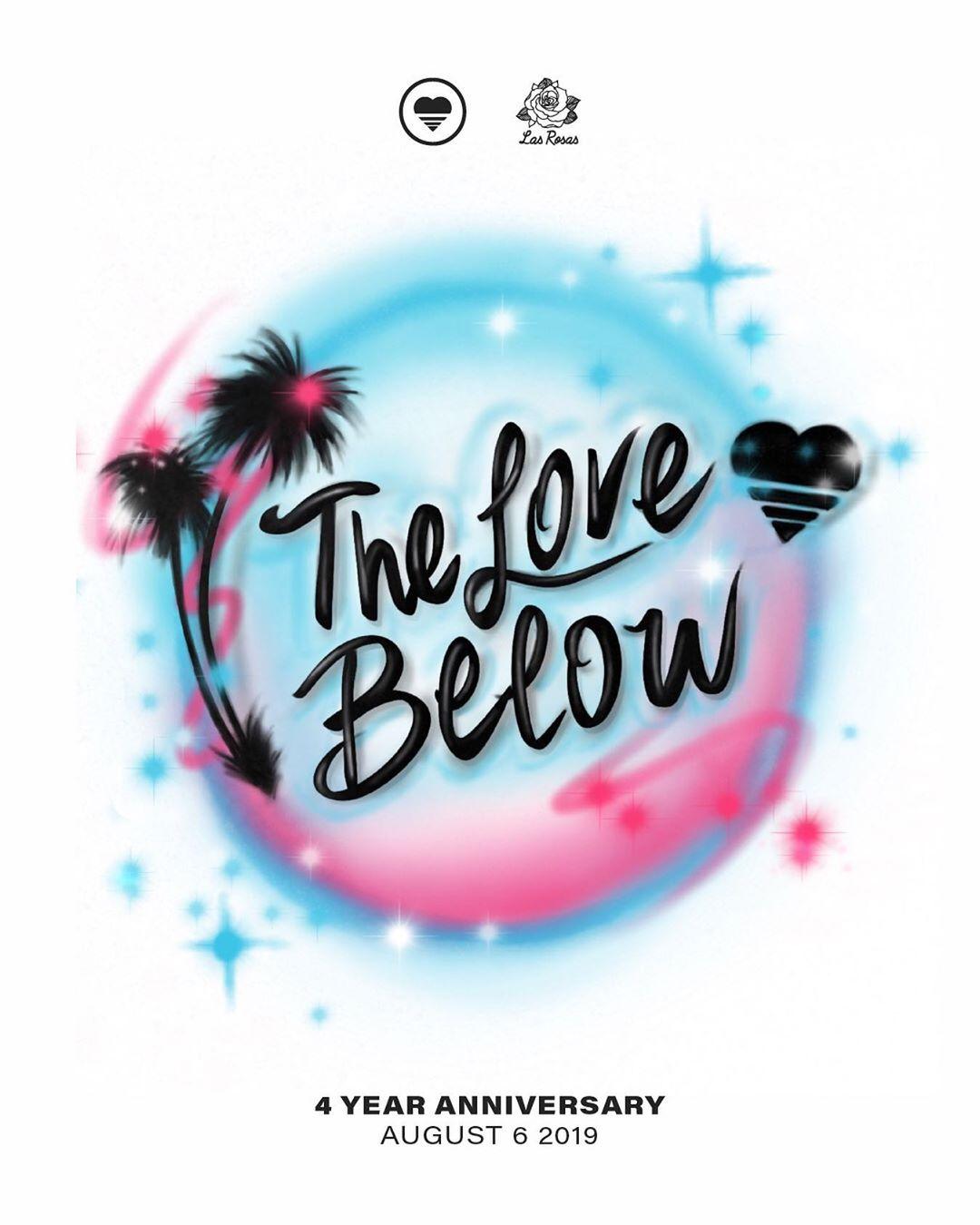 The Love Below 4 year anniversary Illustration