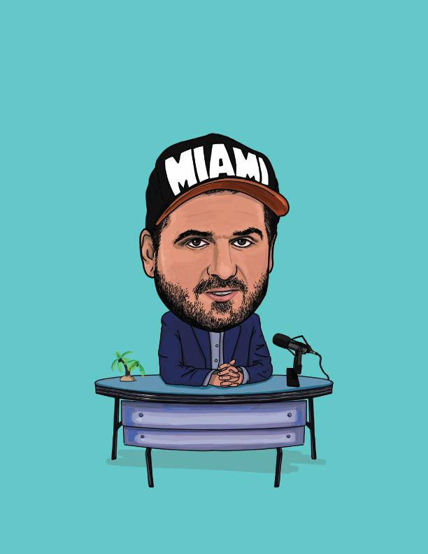 Dan Lebetard, Miami Hall of Fame in Kush Coconut Grove