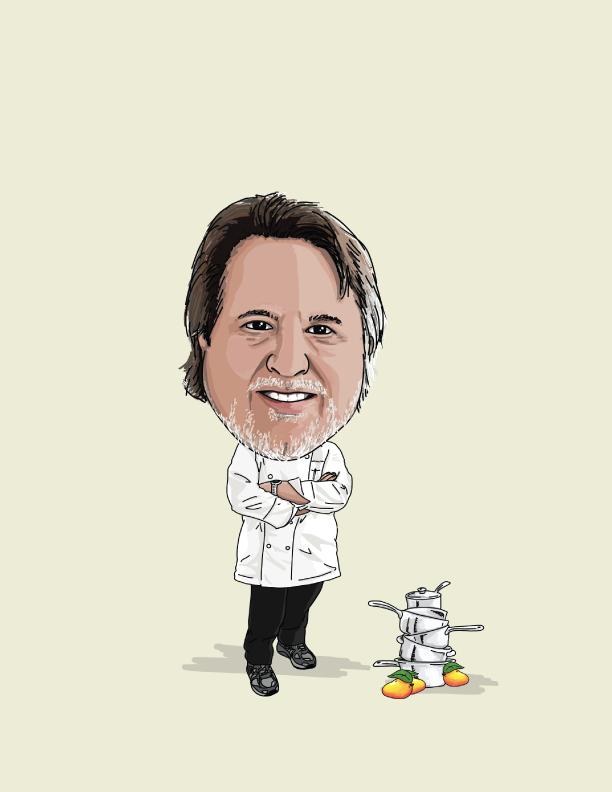 Chef Norman Van Aken, Miami Hall of Fame in Kush Coconut Grove