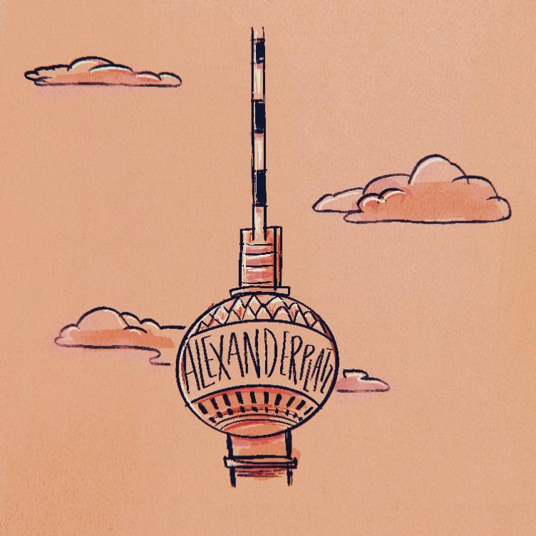 Illustration of Alexanderplatz