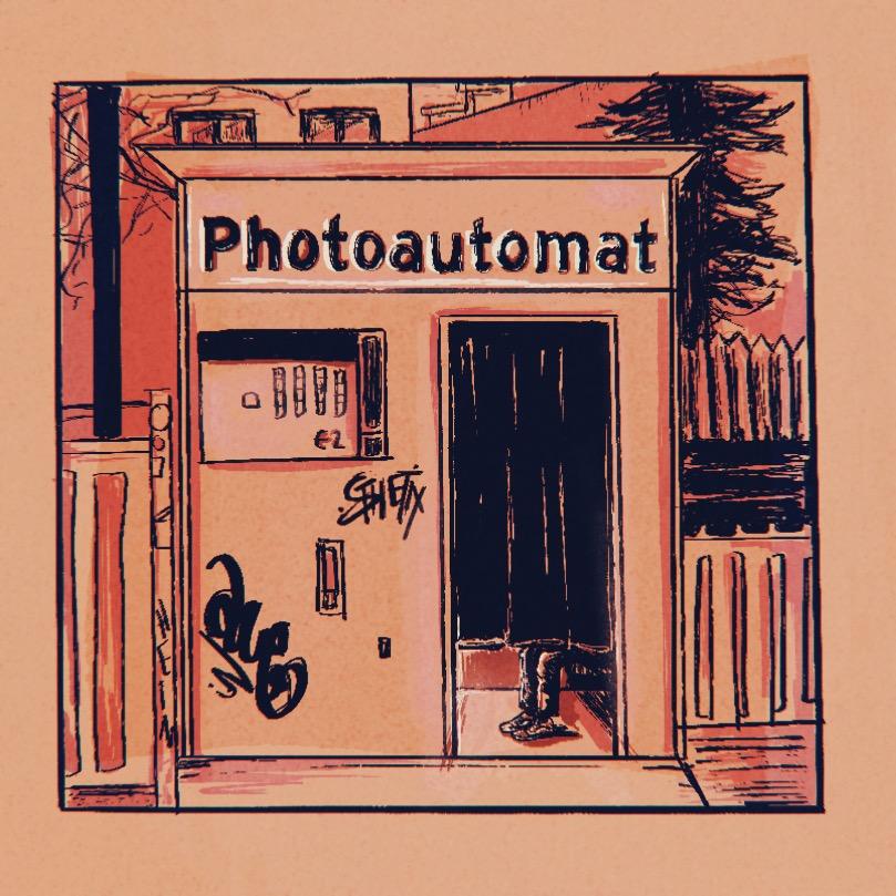 Photoautomat Illustration in Berlin, Germany