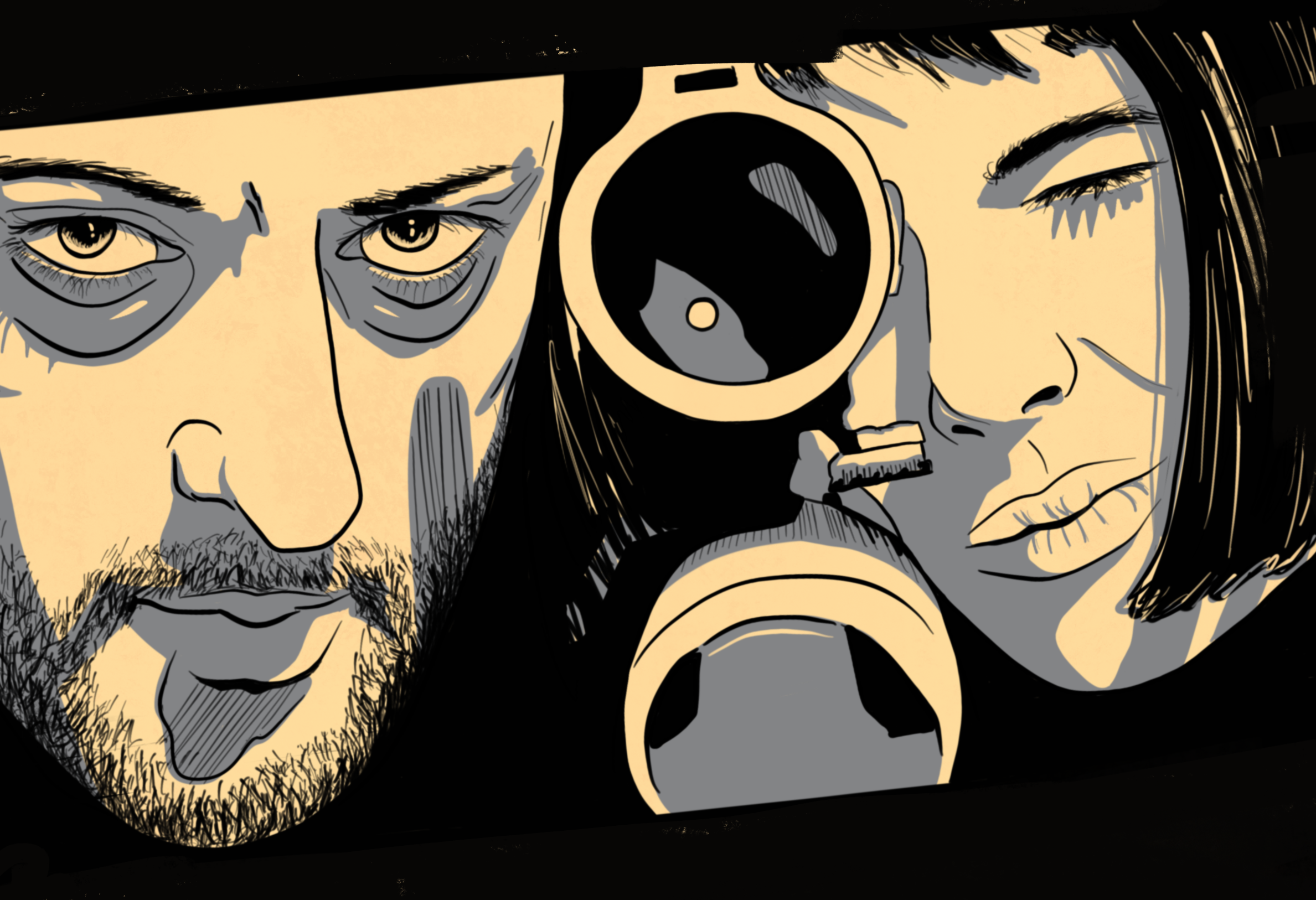 Leon: The Professional Illustration of Matilda and Leon
