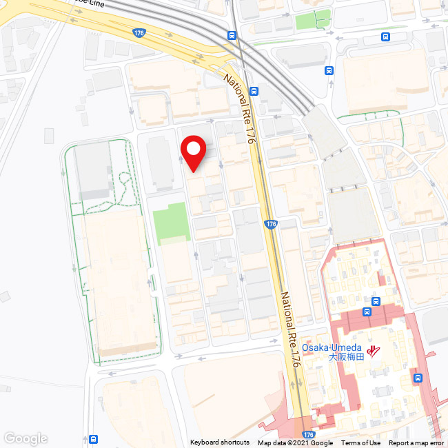 A map of the neighbourhood where our business is registered in. Welcome to beautiful Kita-ku!
