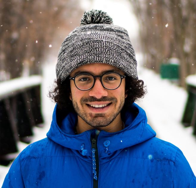 Headshot of website owner Omar El-Etr