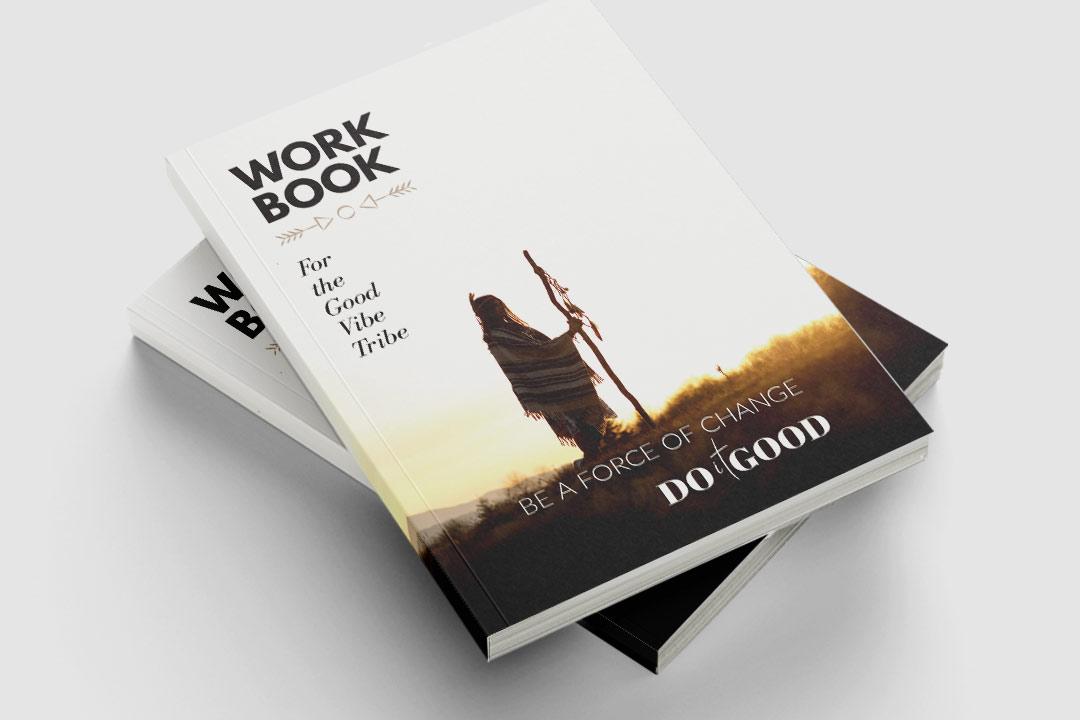 Pile of workbooks