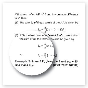 Chapter-wise Topic Notes from Educart Class 10 Mathematics Question Bank
