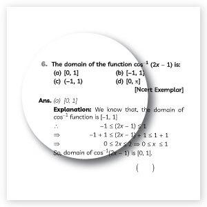 New Pattern MCQs from Educart Class 12 Mathematics Question Bank