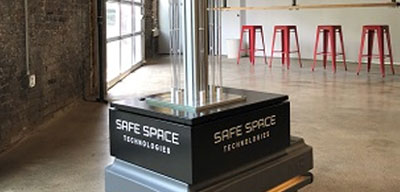 UVC Disinfection Clean Technology Safe Space Technologies Pittsburgh tech company looking to test ultraviolet disinfection robots in local schools