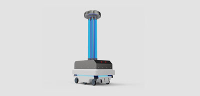 UVC Disinfection Clean Technology Safe Space Technologies UVC Virus-Killing Robot and Other Disinfection Solutions Tackles COVID in Public Spaces