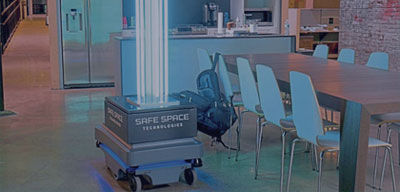 Safe Space Technologies UVC Disinfection Clean Technology Pittsburgh tech company adds ultraviolet disinfection robots to its portfolio