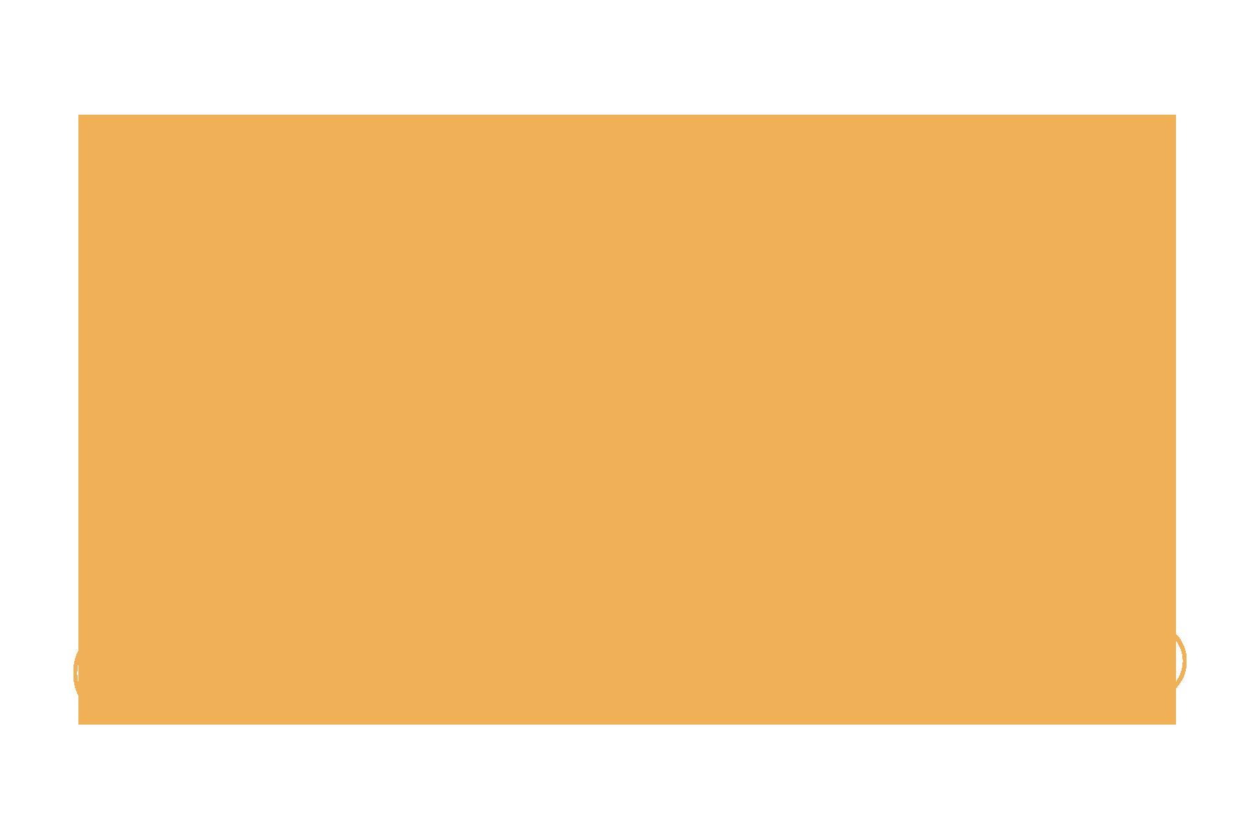 A golden custom typeface, inspired by Art Deco design.