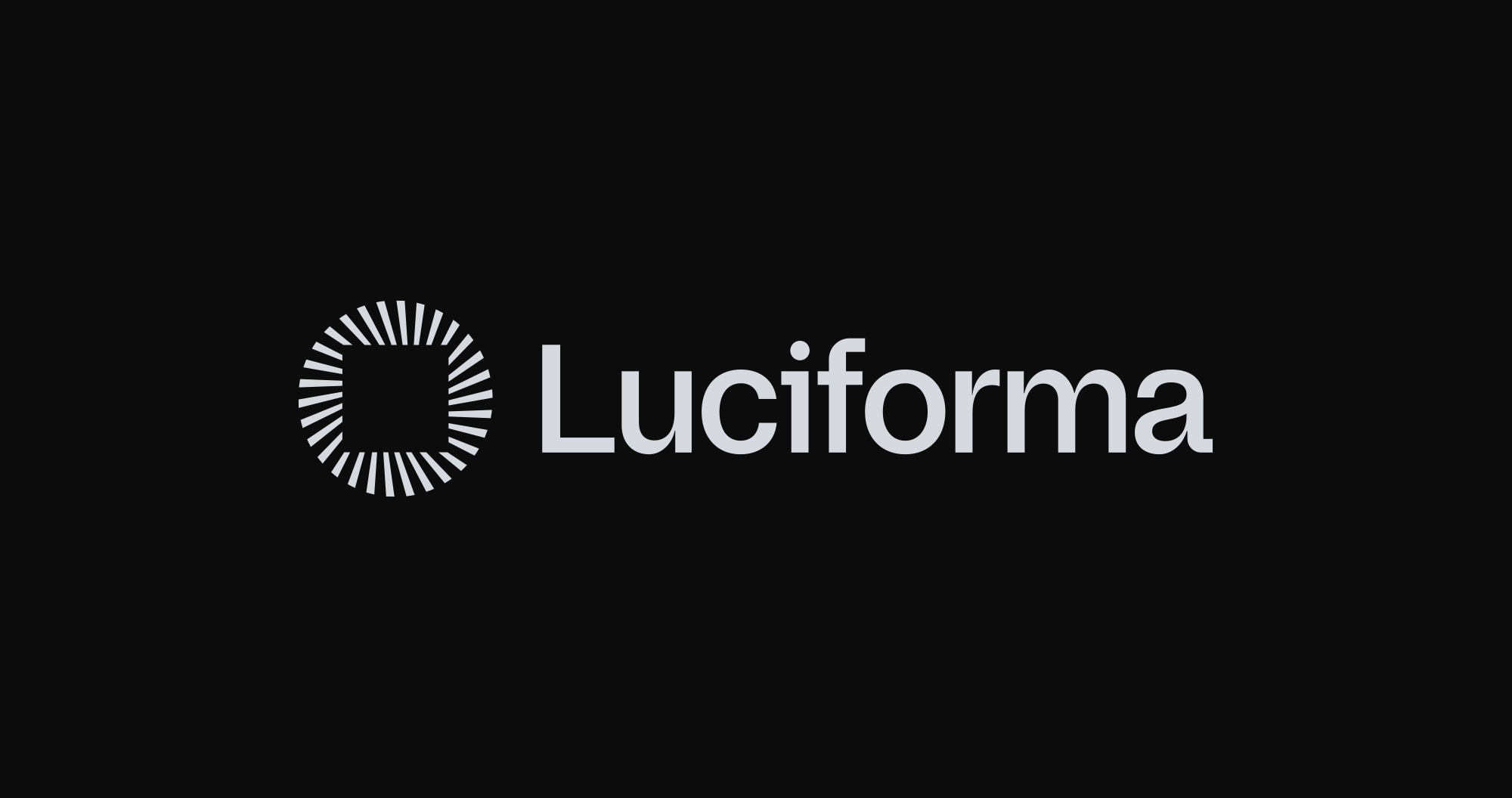 Luciforma's redesigned logo