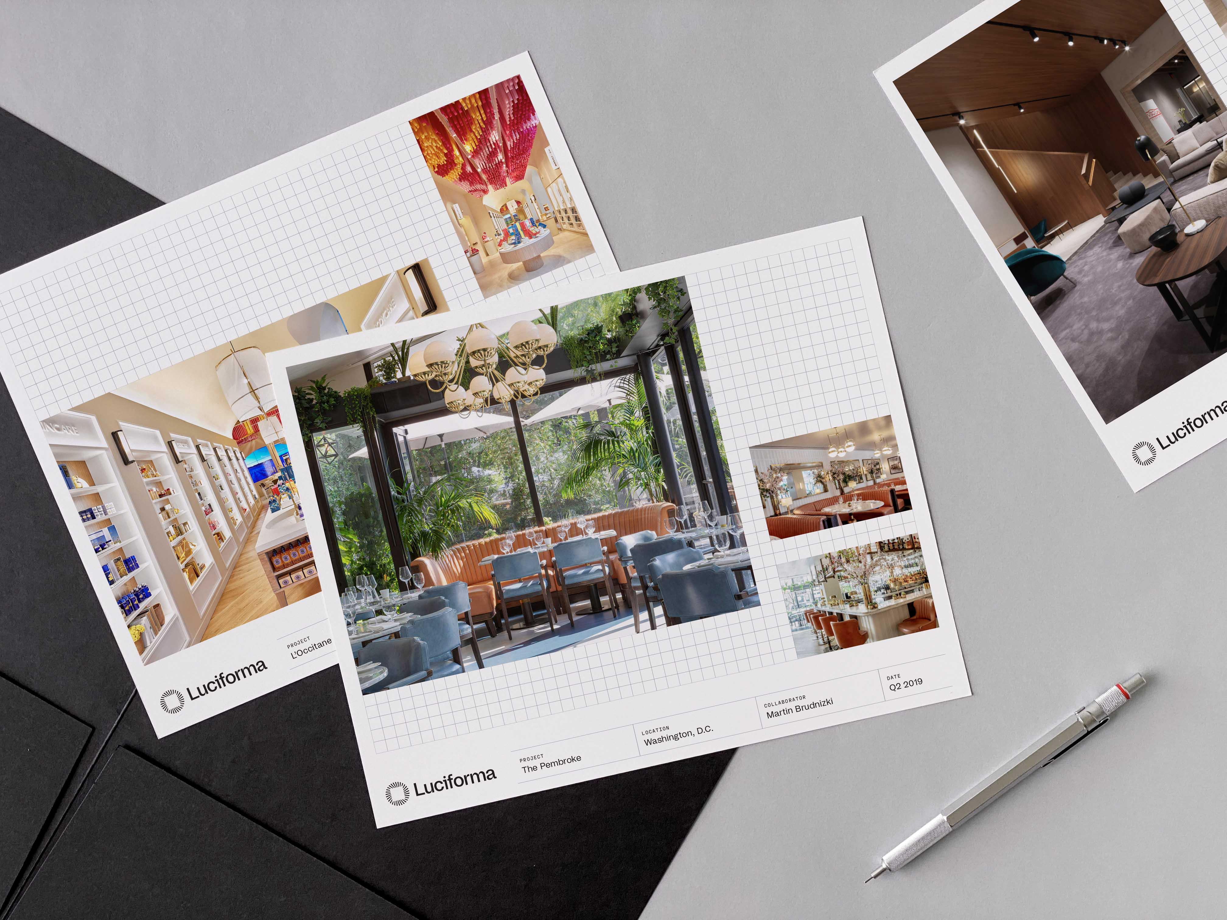 A design studio with bright ideas.