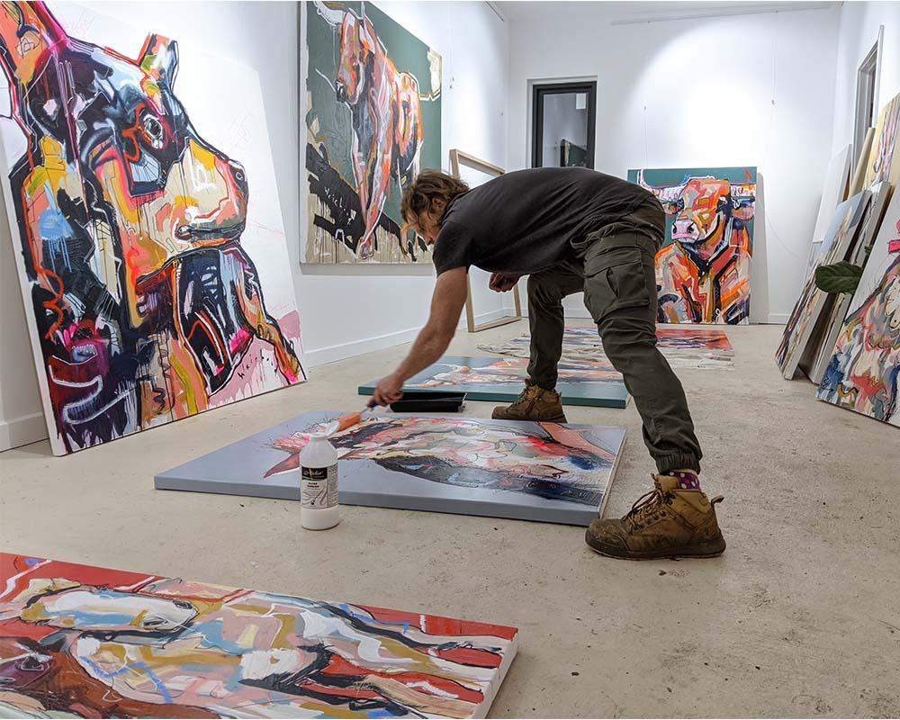 Aidan Weichard - Australian Artist - Contemporary Art Studio and Gallery