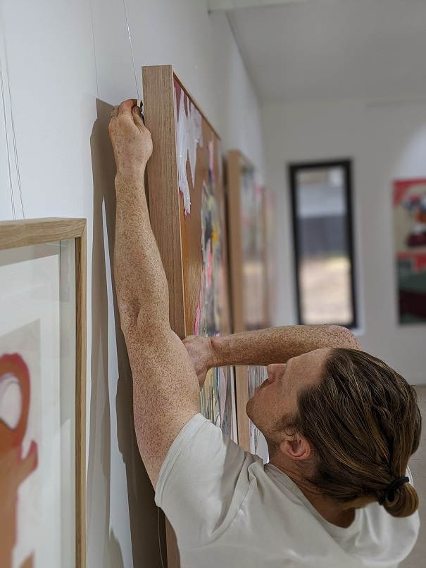 Aidan Weichard - Australian Artist - Studio Gallery