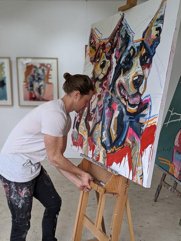 Aidan Weichard - Australian Artist - Gippsland Based Art Studio