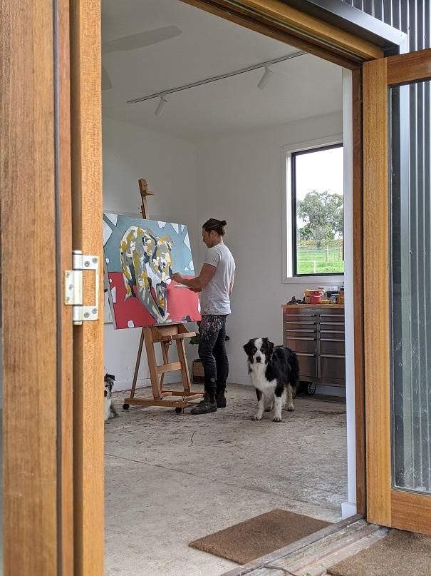 Aidan Weichard - Australian Artist - Open Studio