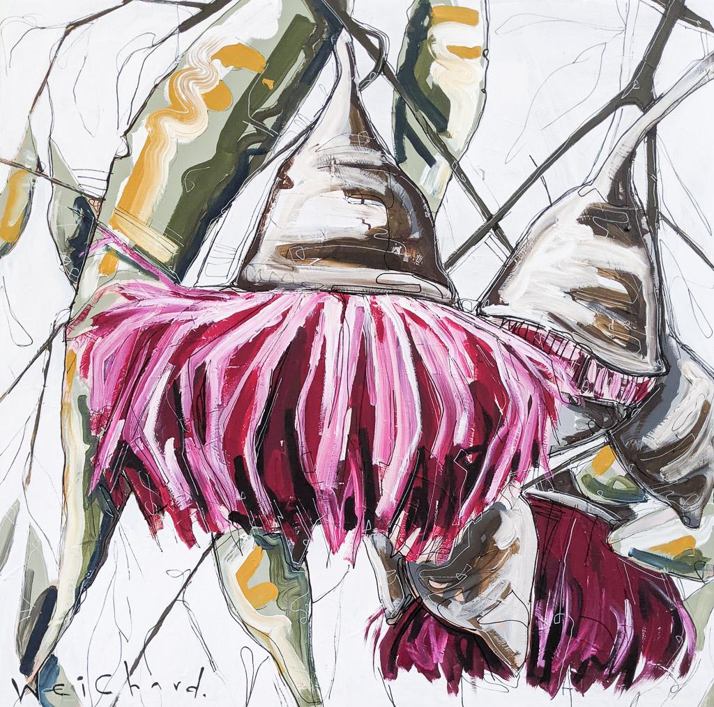Blossom In Bloom - Aidan Weichard Art- Original Painting - Australian Native Plant
