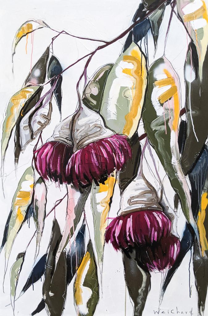 Leaves of Life 12 - Aidan Weichard Art- Original Painting - Australian Native Plant