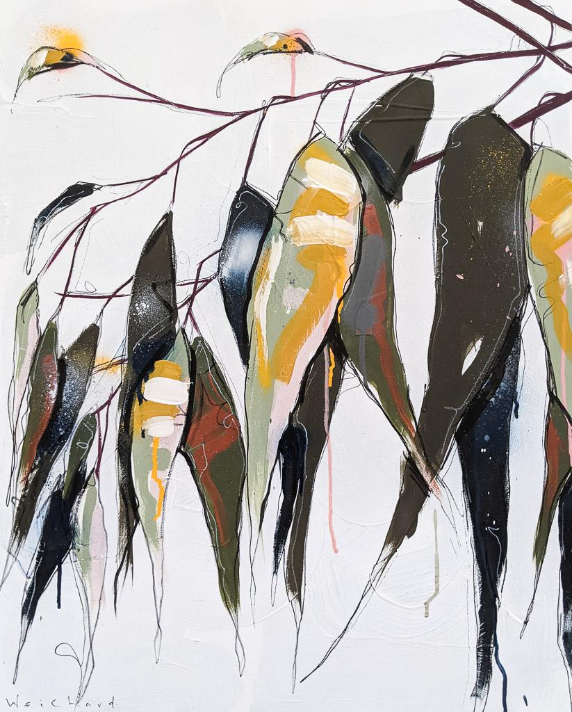 Together in Spring 1 - Aidan Weichard Art- Original Painting - Australian Native Plants