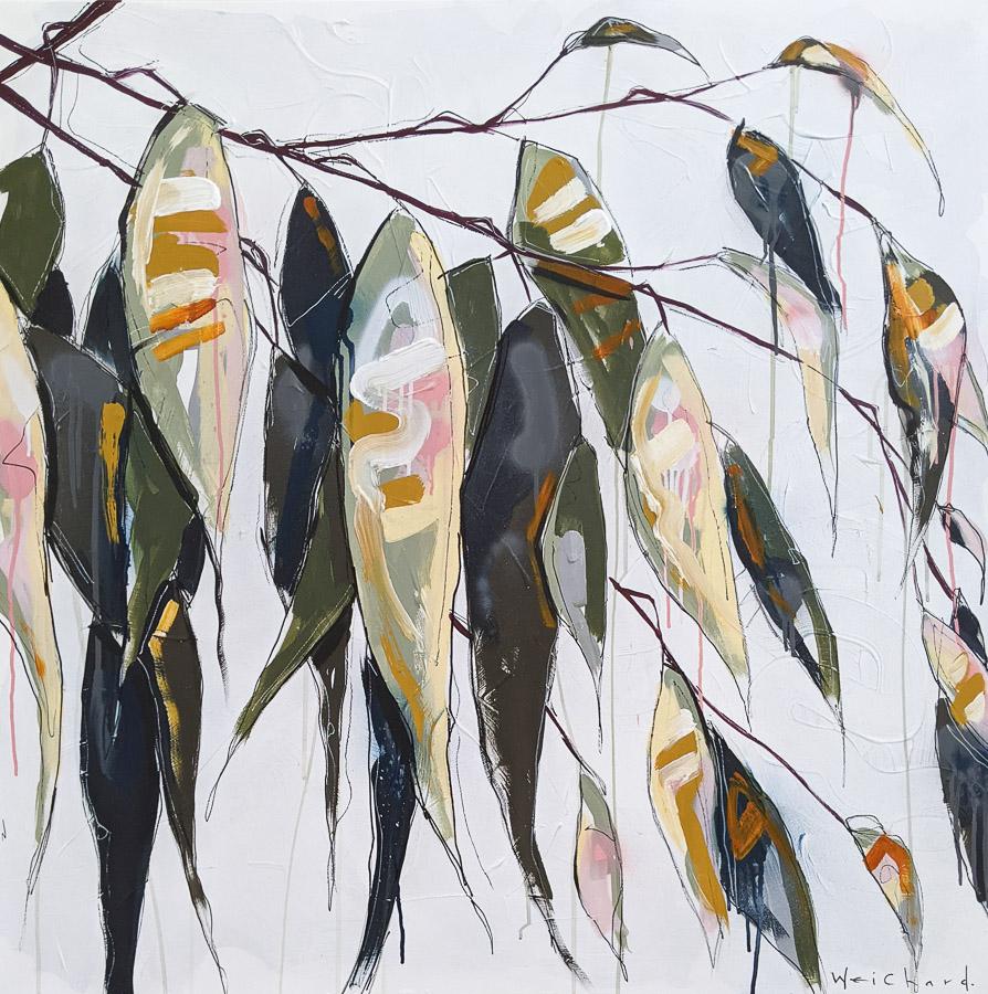 Native Breeze 1 - Aidan Weichard Art- Original Painting - Australian Native Plants