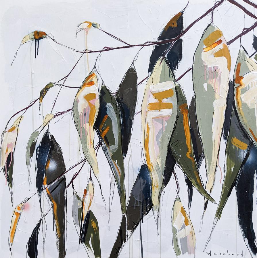 Native Breeze 2 - Aidan Weichard Art- Original Painting - Australian Native Plants