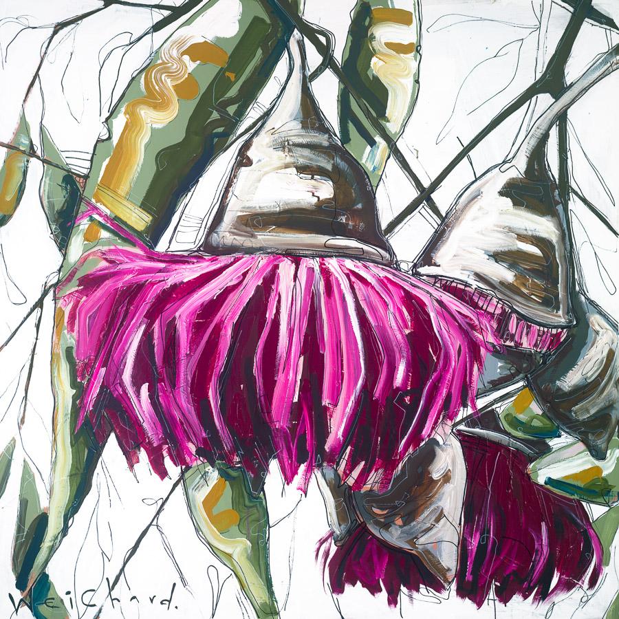 Aidan Weichard Art - Melbourne Australian Artist - Limited Edition Print - Native Plant Flower