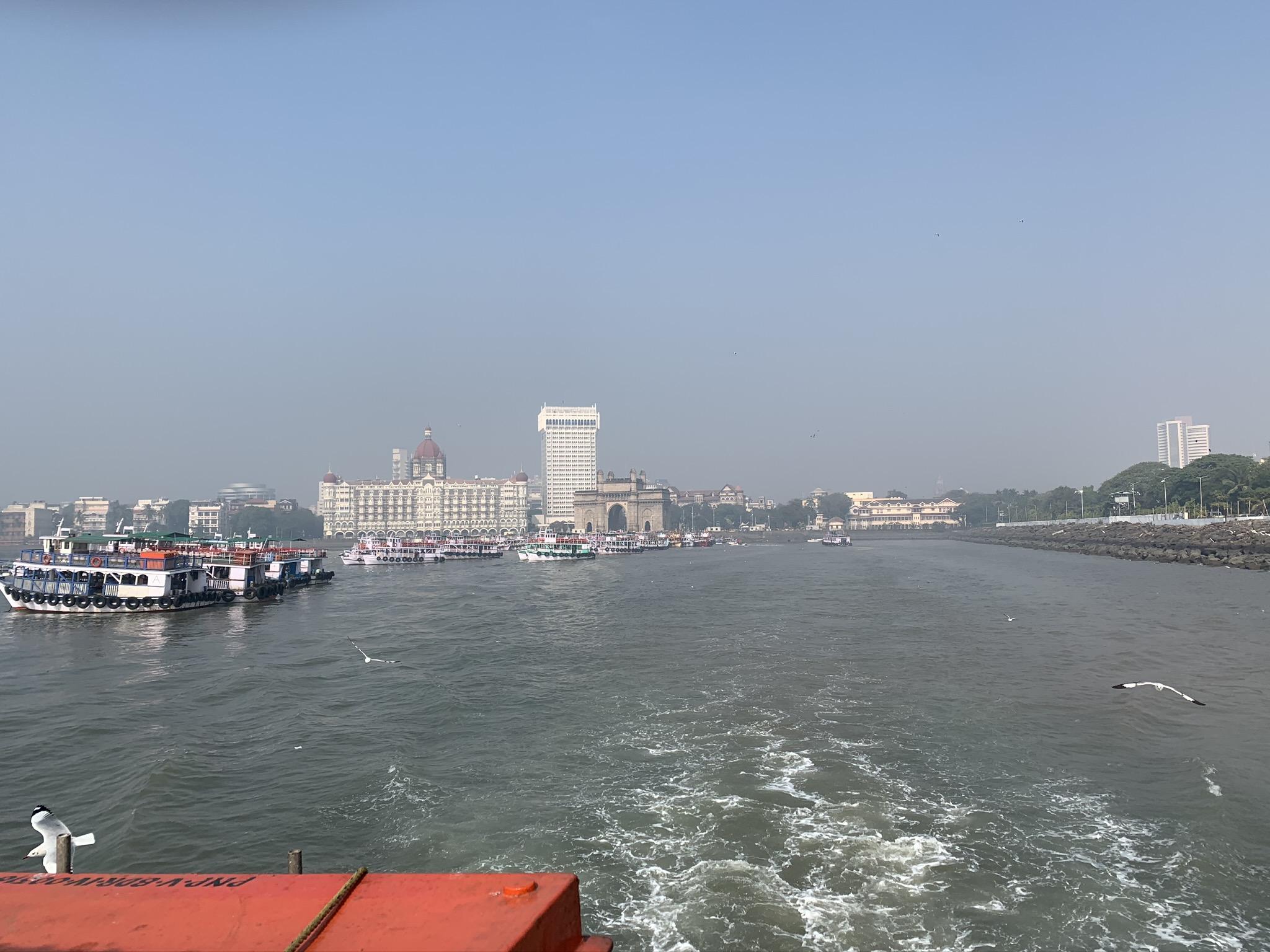 Ferry trip to Alibaug