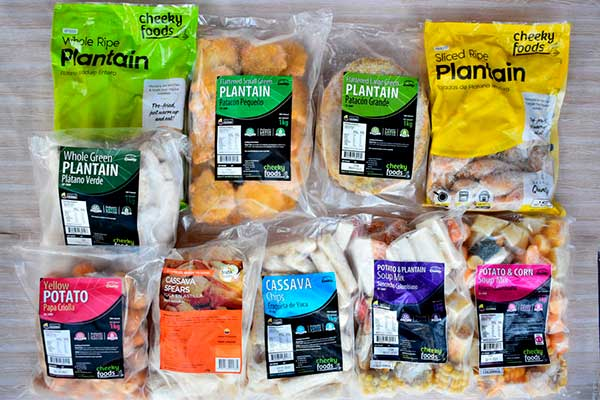 Sabores Latinos Frozen food plantain cassava