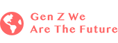 Gen Z We Are The Future Partnership Logo |  Encouraging educational equality | The digital student to student mentorship program connecting underserved students to dedicated mentors, personalized resources and immersive courses for the careers of the future.