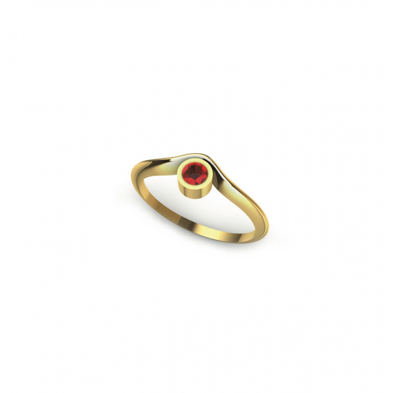 Bague Synchronicity Rubis