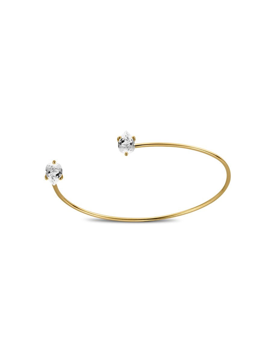 Bracelet Double C Topaze