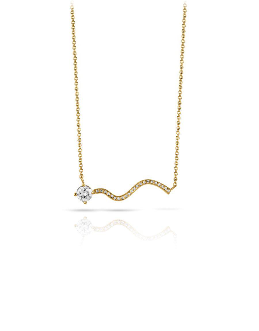Collier Petite Comète Diamants