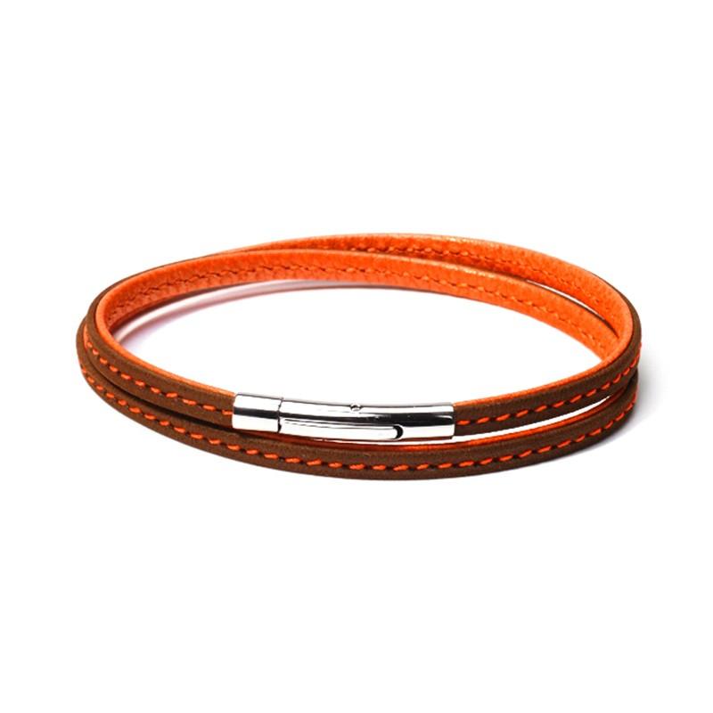 Bracelet Colibri Marron Orange